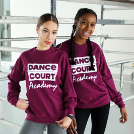 Dance Court Academy sweater bordeaux