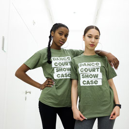 Dance Court Show Case T-shirt army green