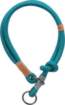 Be Nordic Zug-Stopp- Halsband Petrol