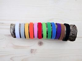 Welpenhalsbänder / ID- Halsband Klett in 12 Farben