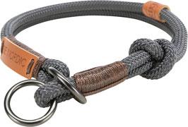Be Nordic Zug-Stopp- Halsband Grau