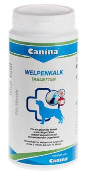 Welpenkalk (Tabletten) für gesunde Zähne und Kräftige Knochen