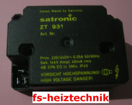 Satronic Zündtrafo ZT 931 ( ZT812 )