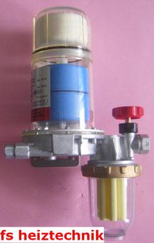 Afriso Flo-Co-Top Ölfilter mit Automatic Entlüftung