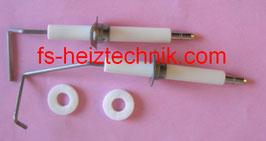 Schrag Zündelektrode Set B 10371 , B 10372