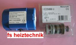 Honeywell VC 6012 Ersatz Motor  MUT-SPDT mit Ventileinsatz. Actuator. Moteur VC 6012