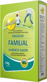 Semence Gazon Familial 2kg
