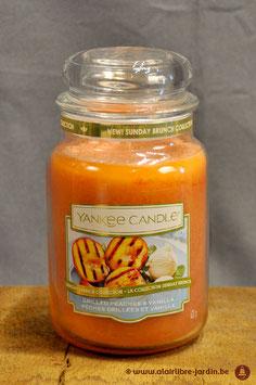 Grilled Peaches & Vanilla YK