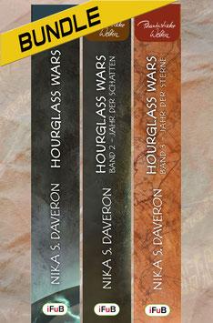 Nika S. Daveron: Hourglass Wars: Die vollständige Saga (Bundle, 3 Bücher)