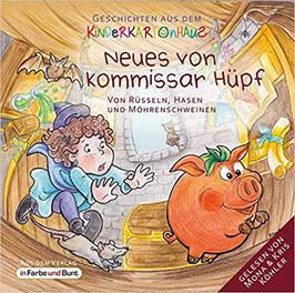 Sarah Schreckenberg, Marek Heindorff, Laura Dümpelfeld: Neues von Kommissar Hüpf - Von Rüsseln, Hasen und Möhrenschweinen (Audio)
