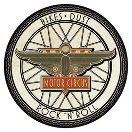 Sticker - Bikes Dust Rock'n'Roll