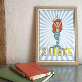SILENCE - FINEART PRINT