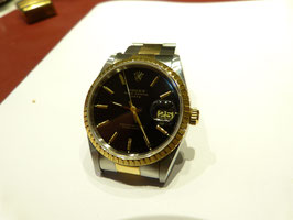 Rolex Oster perpetual Date OR/Acier