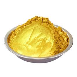 Lebensmittelfarbe Gold Pulver 100g