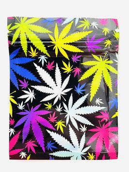 "Cali Weed Bag ""Multicolor Leaf"""