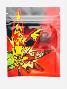 "Cali Weed Bag ""Red"""