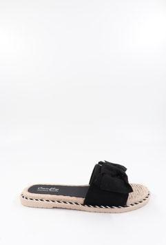 Sandales Clarence noires