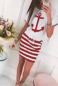 Robe Olivia rouge