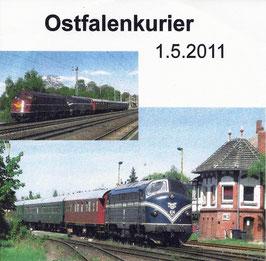 "01. Mai 2011 - BNR Sonderfahrt ""Mit dem Ostfalen Courier quer durch Ostfalen"""