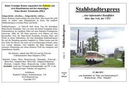 """12 Mai 2012 - BNR Sonderfahrt """"Stahlstadtexpress"""""""