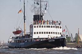 """05.07.2020 / Ahoi """"Leinen Los"""" auf dem Dampfeisbrecher Stettin"""