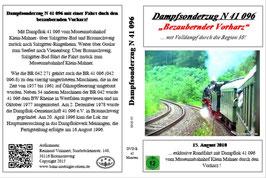 Dampfsonderzug bezaubernder Vorharz - 15. August 2010 - BNR Sonderfahrt