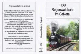 Regenwaldbahn im Selketal - DVD