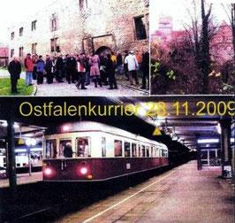 "28. November 2009 - BNR Sonderfahrt ""Ostfalen Courier"""