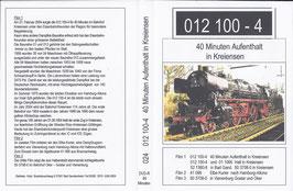 012 100-4 / 40 Minuten Aufenthalt in Kreiensen