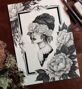 ART PRINT «WILD ROSE»