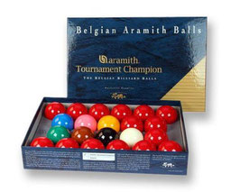 Aramith Tournament Champion Snooker Ballset (gebraucht)