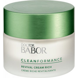 DOCTOR BABOR - CLEANFORMANCE  Revival Cream Rich