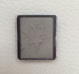 Lidschatten silky grey 12