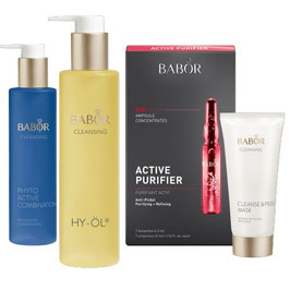 Babor Home Spa Set Clear für Mischhaut / fettige Haut