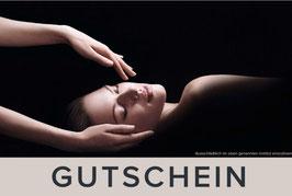 Gutschein für grosse Gesichtsbehandlung mit Dekolleté Massage