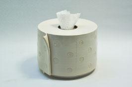 Toilettenpapierrolle Keramik Steinzeug