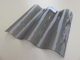 Acryl Wellplatten 76/18 - Graphit Perle-Struktur - 3mm Stärke