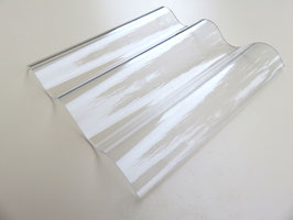 Acryl Wellplatten 76/18 - Farblos-Glatt - 3mm Stärke
