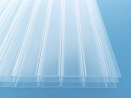 16mm Stegplatten - Glasklar - Dreifachstegplatten - Polycarbonat