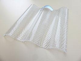 Acryl Wellplatten 76/18 - Farblos-Wabe - 3mm