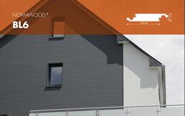 NOMAWOOD Profilbretter - BL6 - 100x22x4600mm