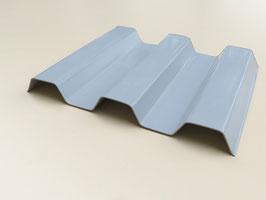Trapezplatten 70/18 - Opak-Grau- Renolit Ondex Sollux - PVC