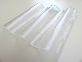 Acryl Wellplatten 76/18 - Farblos C-Struktur - 3mm Stärke