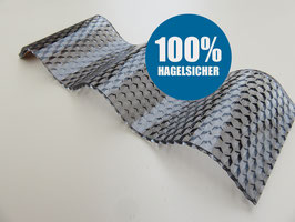 Polycarbonat Wellplatten 76/18 - Farblos-Wabenstruktur - 2,8mm Stärke