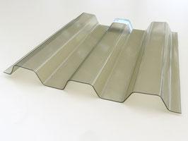 Trapezplatten 70/18 - Rauchfarben - Renolit Ondex Sollux - PVC