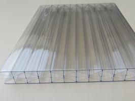 16mm Stegplatten - Glasklar - X-Wall Struktur - Polycarbonat