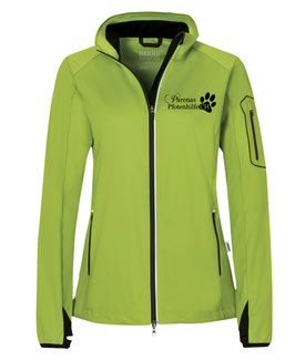 Softshell-Jacke light