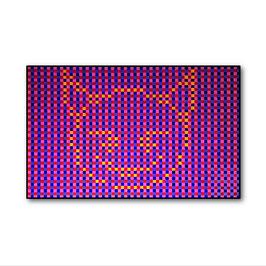 Devil Pixel Cat