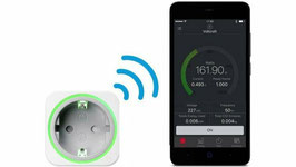 Voltcraft SEM6000 Energiekosten-Messgerät/Schalter mit Bluetooth Smart Energy Meter
