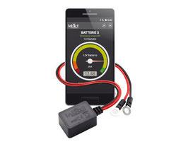 6, 12 und 24 Volt Überwachung/Monitoring  für IPhone & Android für 6,12 und 24V Batterien